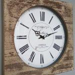 Reloj madera. 50x6x50